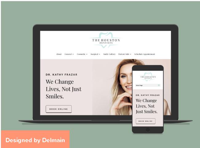The Houston Dentists - drfrazar website