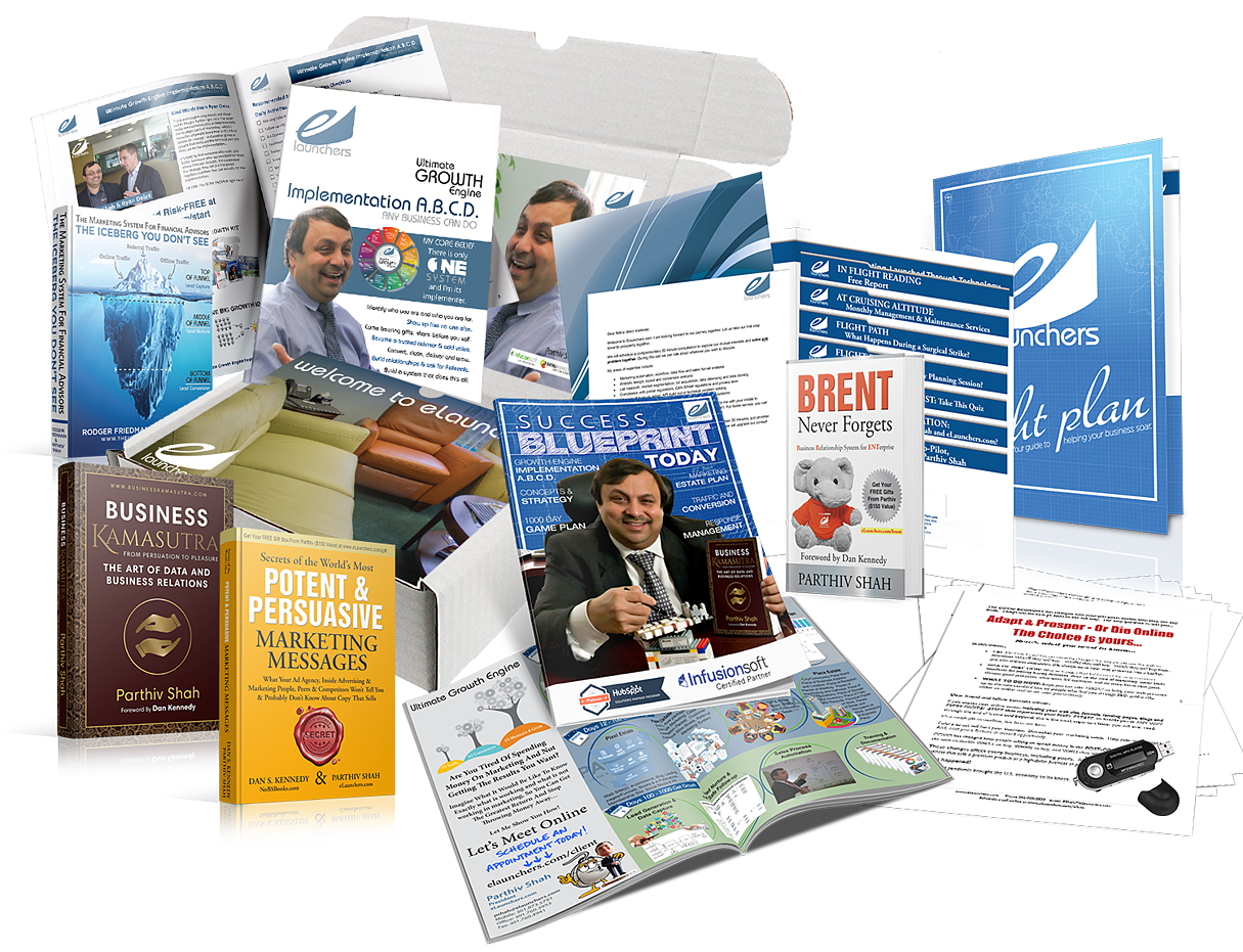 eLaunchers Marketing Department in a Box Implementation A.B.C.D. for Dentist - box