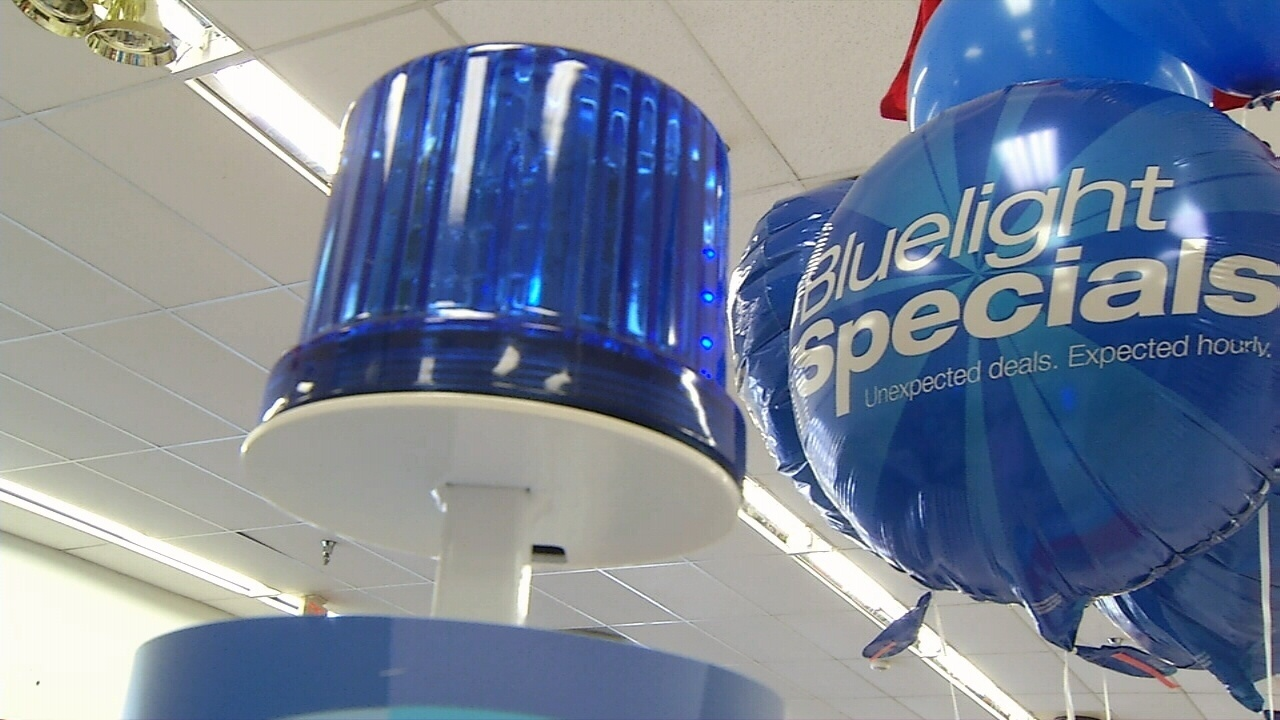 kmart blue light special