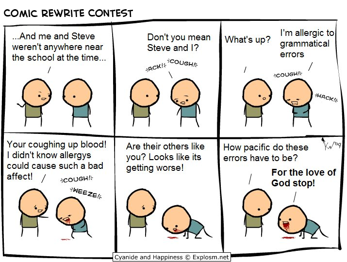 punctuation explosm.net