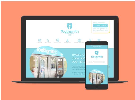 toothsmith website