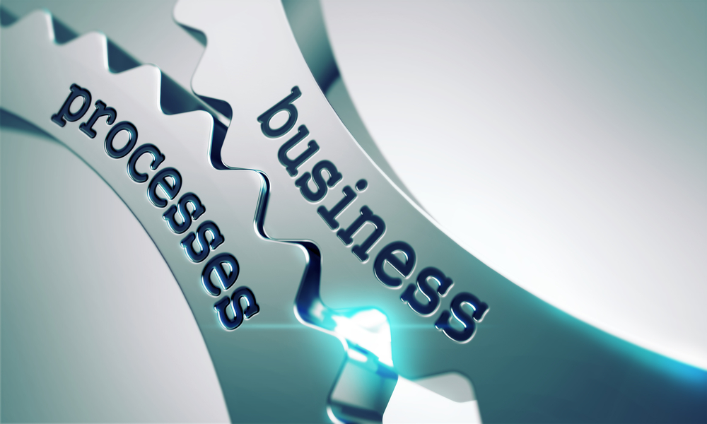 gears enmeshed for business processes
