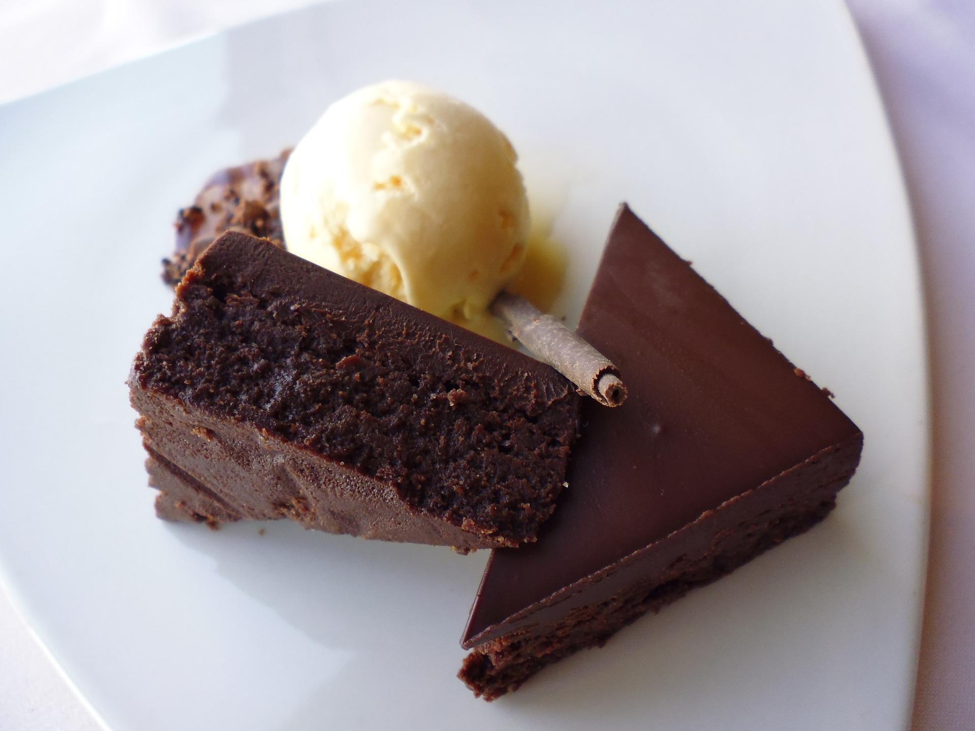 cake and ice cream pixabay