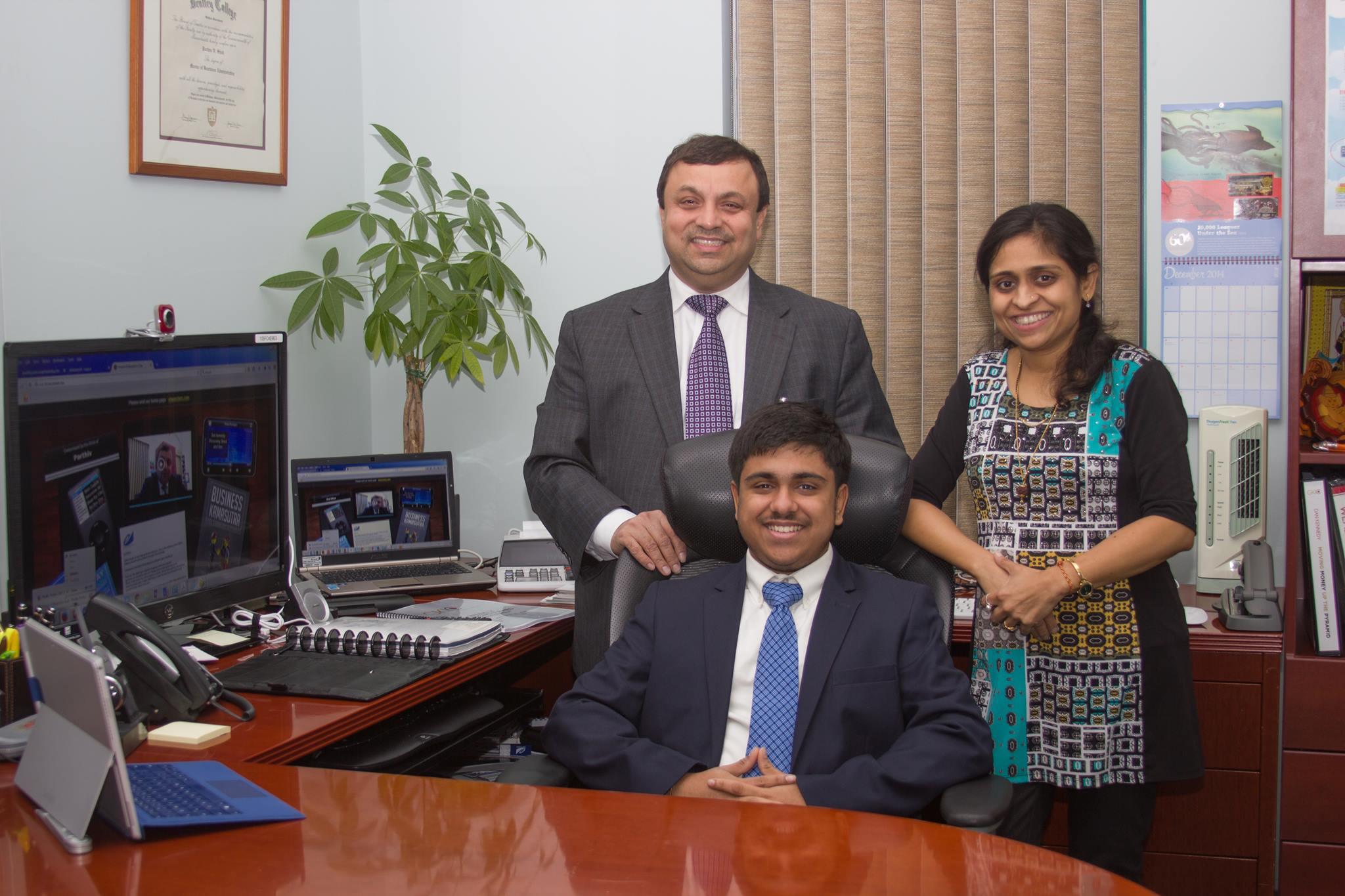 parthiv family